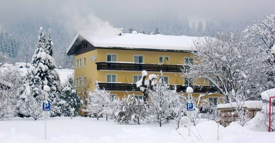 Urlaub im Winter am Ossiacher See Pension Eigner
